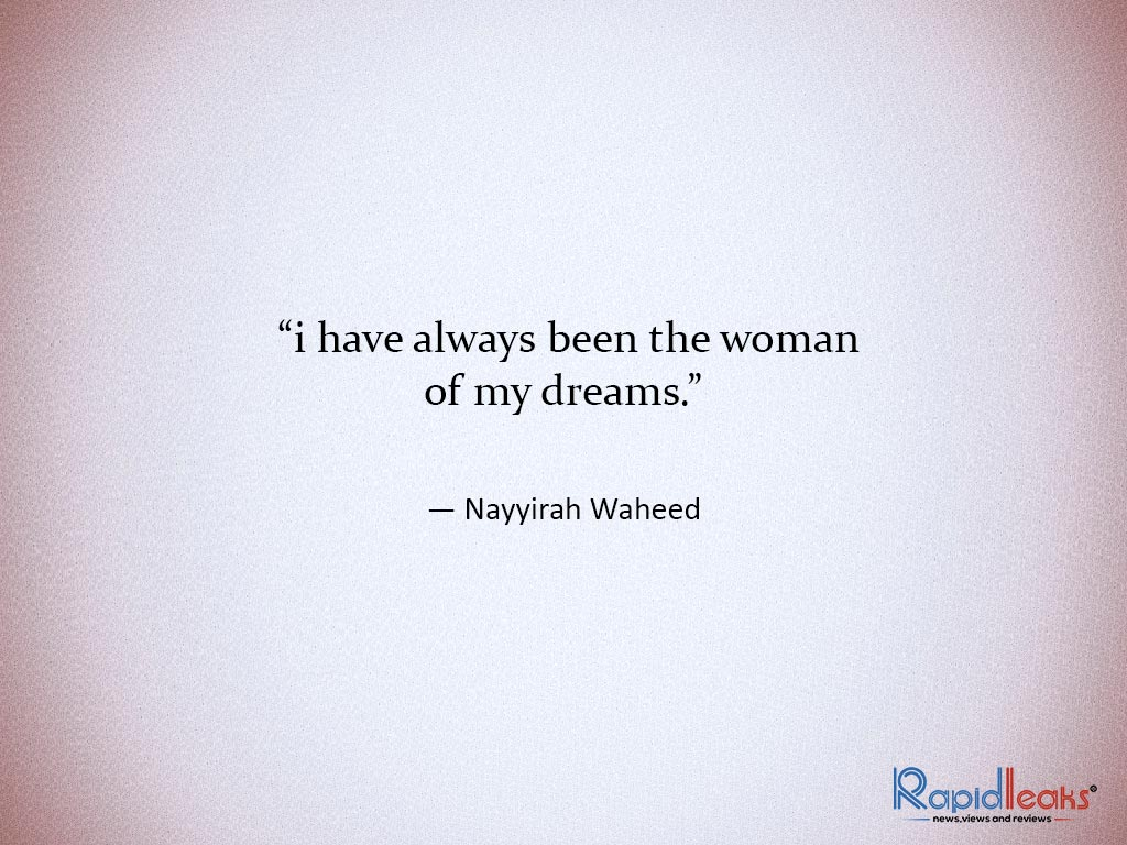 Nayyirah Waheed Poems