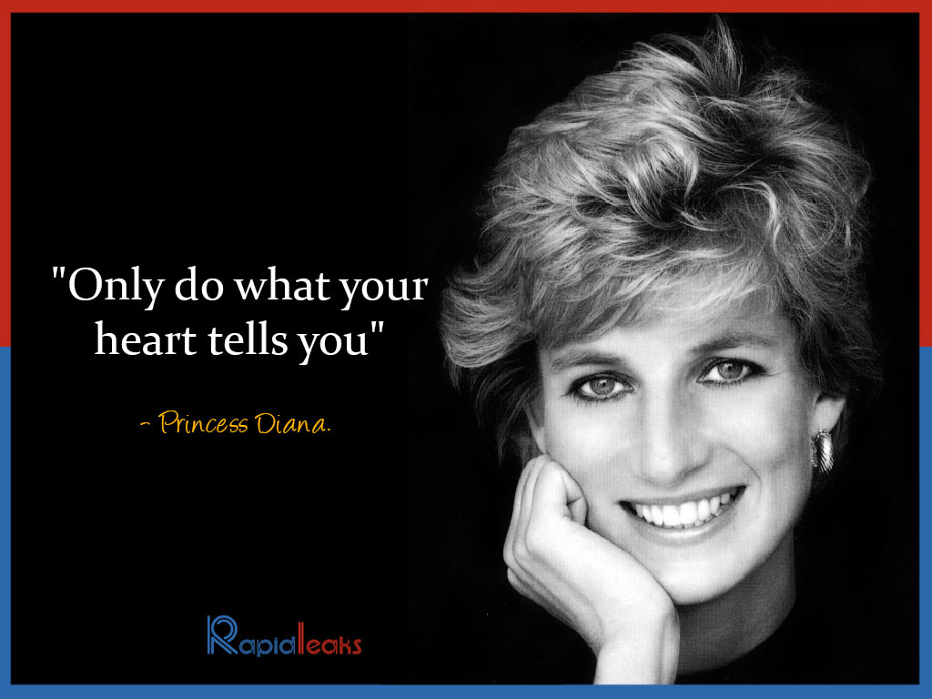 Princess Diana Quote