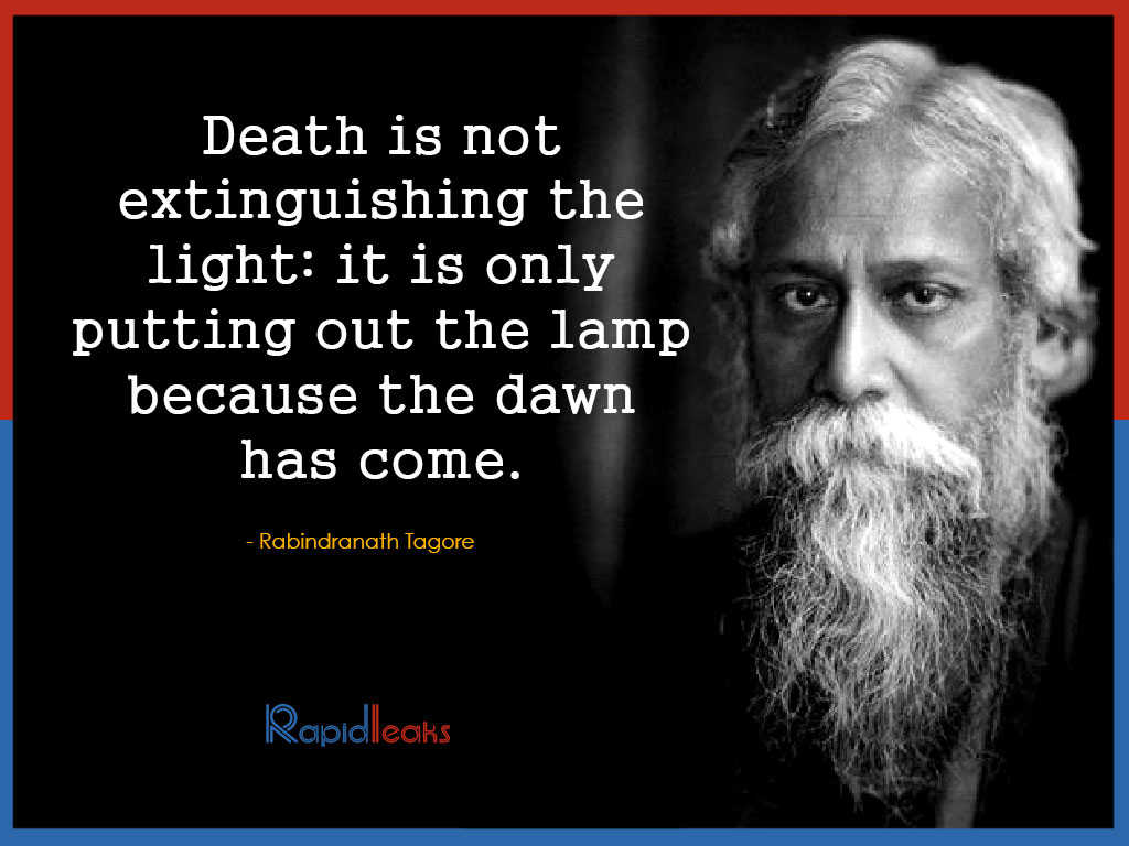 Quotes by Rabindranath Tagore