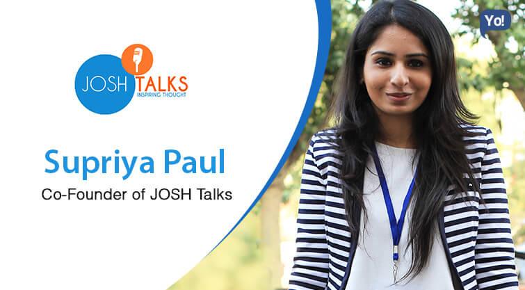 Supriya Paul - JoshTalks