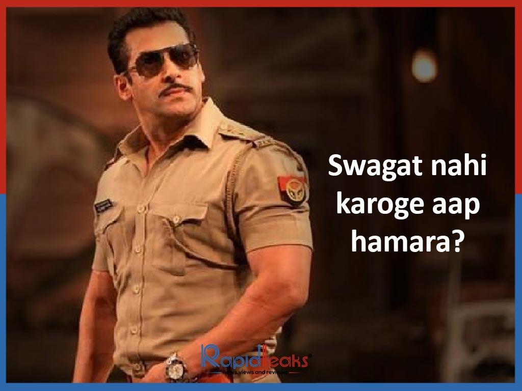 Swagat nahi karoge aap hamara - Dabangg 2