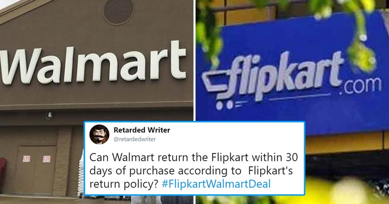 Twitter Reacts To Flipkart And Walmart Deal Worth $16 Billion