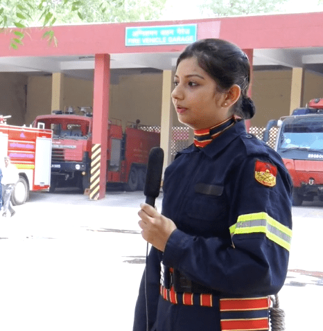 First Woman Firefighter In India