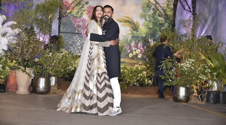 sonam Kapoor reception