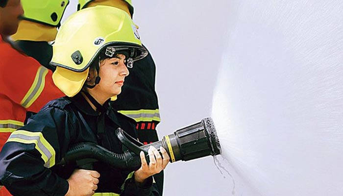 Women Firefighter India