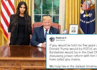 Donald Trump Met Kim Kardashian