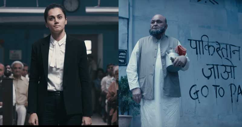 Rishi Kapoor and Taapsee Pannu
