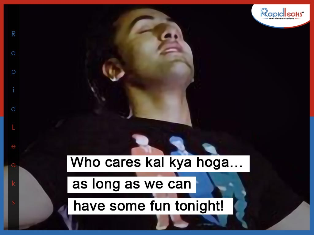 Ranbir Kapoor dialogues in Wake Up Sid