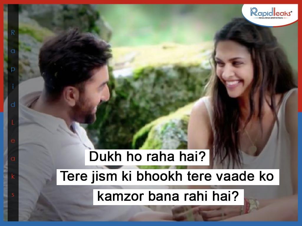 Ranbir Kapoor dialogues Tamasha