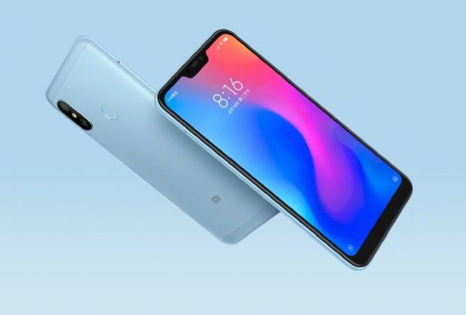 Xiaomi Redmi 6 Pro Price and Availability