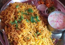 biryani in Delhi