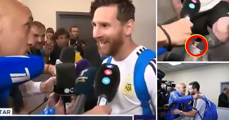 messi lucky ribbon