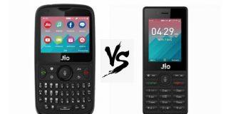 JioPhone 2 vs JioPhone