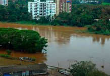 massive floods in Kerala