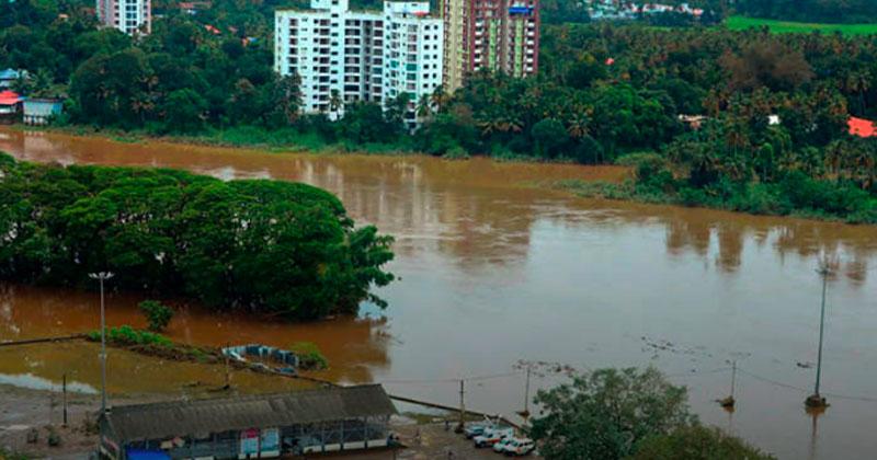 massive floods in Kerala