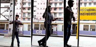 Mumbai doing the Kiki Challenge