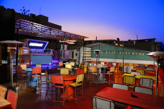 Summer House Café, Hauz Khas