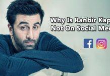 Ranbir Kapoor Social Media