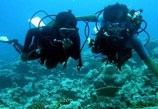 scuba diving in lakshadweep