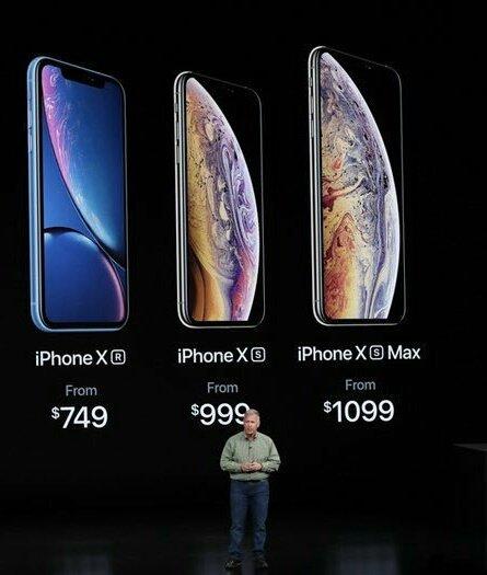 iPhone XS, XS Max XR