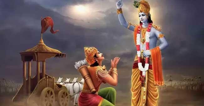 Arjuna - Lord Krishna