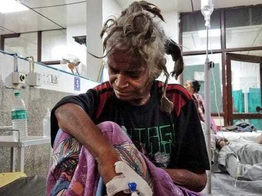 Delhi woman held captive