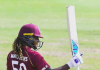 Hayley Mathews scores her maiden ODI century