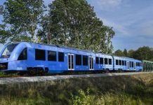 Hydrogen Powered Train
