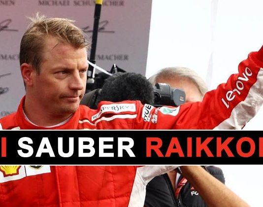 Kimi Raikkonen Sauber