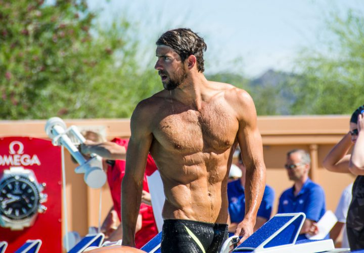 Michael Phelps fitness