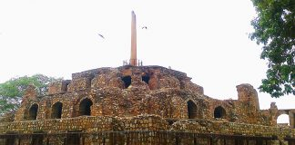 forgotten monuments of Delhi