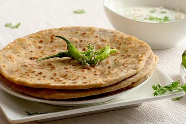 stuffed paranthas