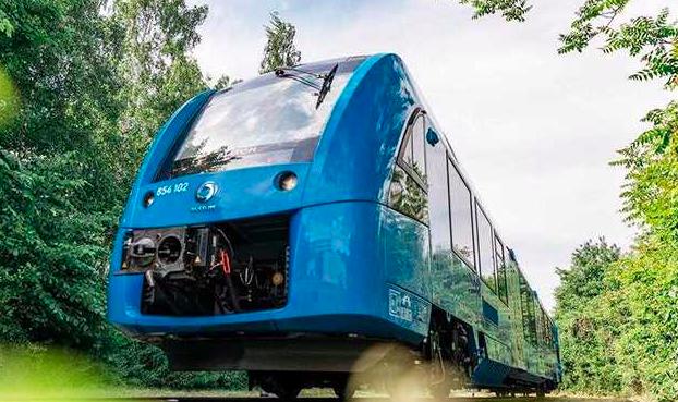world's first hydrogen powered train