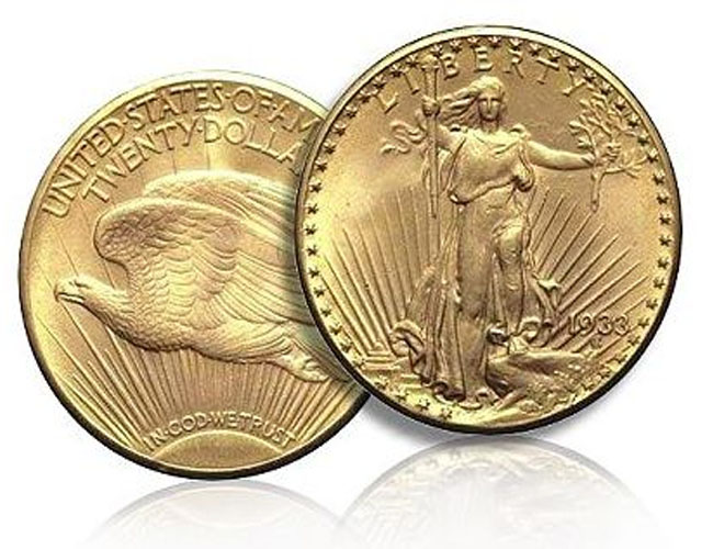 1933 us double eagle gold coin