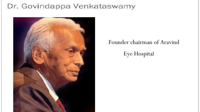 facts about Dr Govindappa Venkataswamy