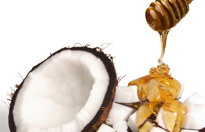 Honey and coconut oil