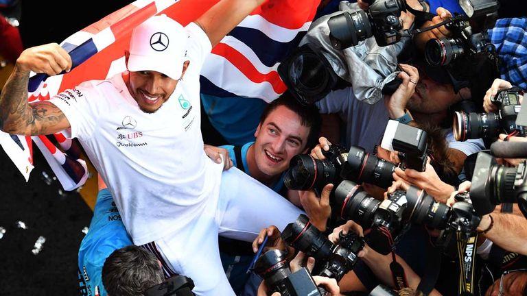 Lewis Hamilton five time world champion