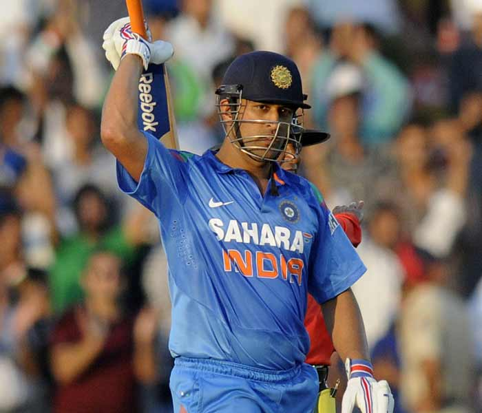MS Dhoni centuries