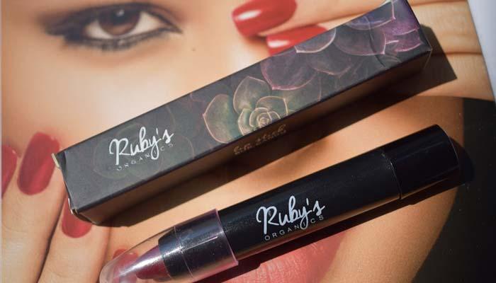 Ruby's Organics Vegan Lipstick
