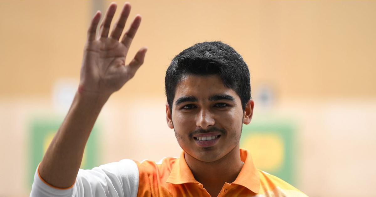 Saurabh Choudhary gold medalest