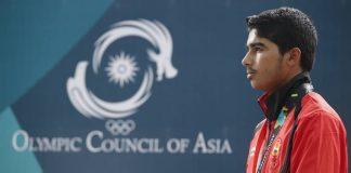 Saurabh Choudhary at Youth Olympics