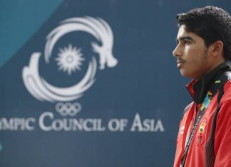 Saurabh Choudhary at Youth Olympics