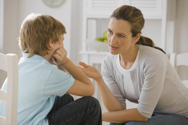 Talk with children