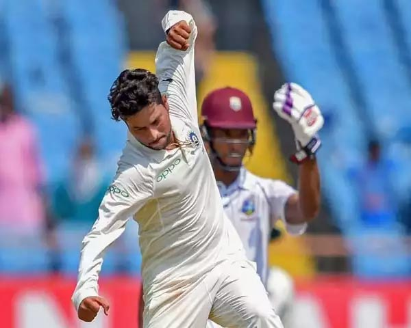 kuldeep yadav against west indies