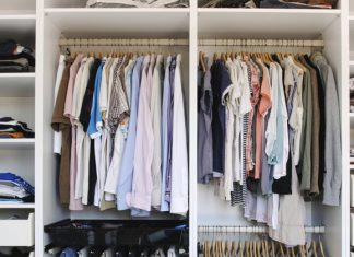 organise your wardrobe