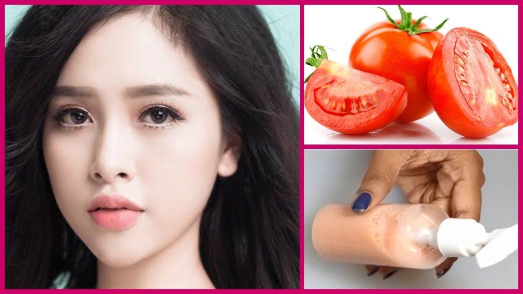 tomato cleanser for skin