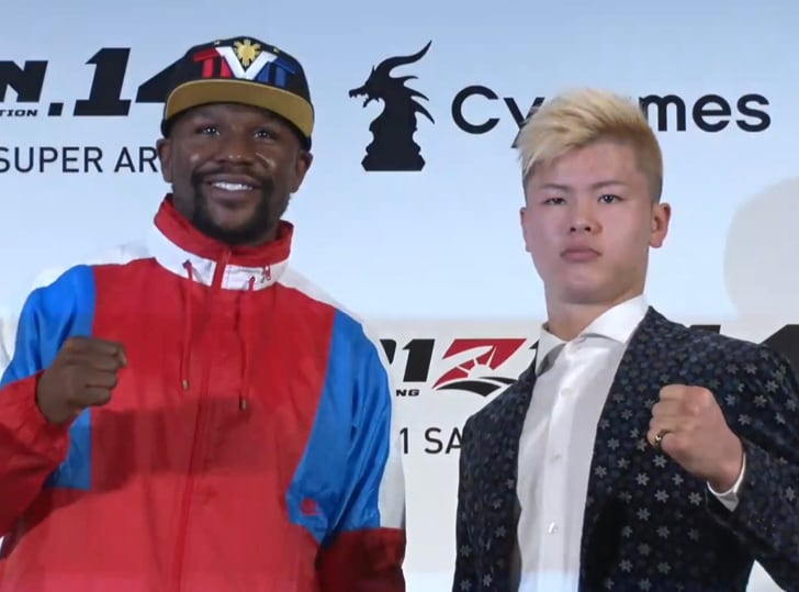 Floyd Mayweather v Kickboxer