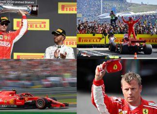 Kimi Raikkonen 2018 Form
