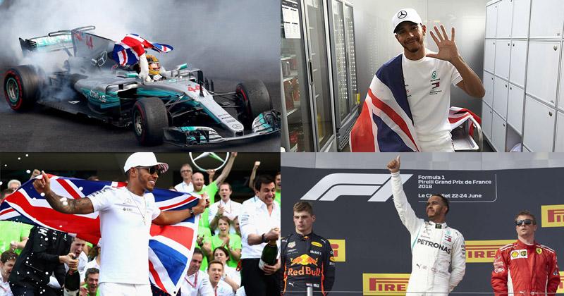 Lewis Hamilton 2018