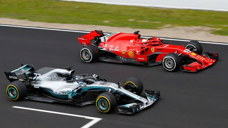Mercedes-Ferrari rivalry